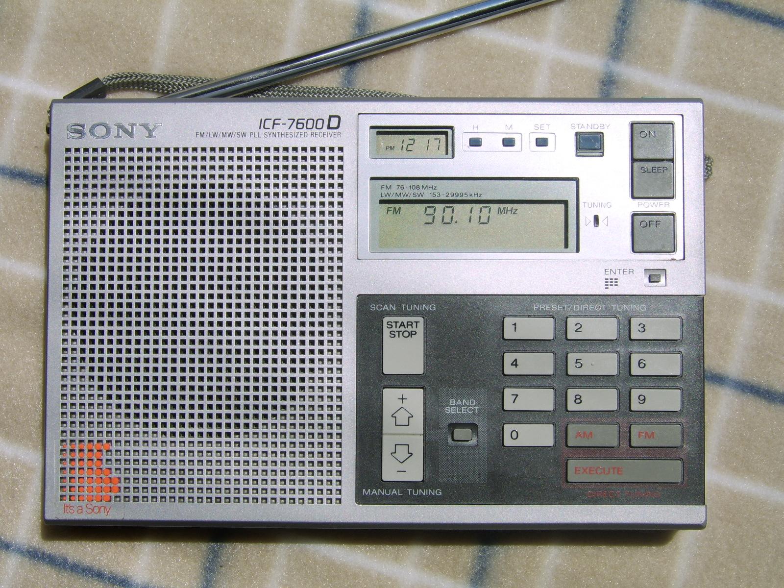 2003——2013 十年间sony icf-sw7600gr 的变化.